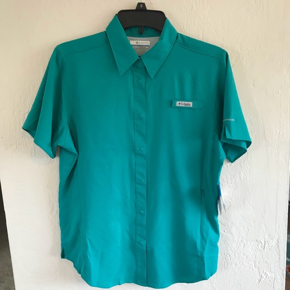 1dd1e044ceb Columbia Tops | Nwt Crystal Springs Short Sleeve Shirt | Poshmark